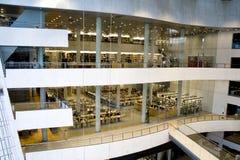 Een moderne Bibliotheek - de Koninklijke Bibliotheek, Kopenhagen Stock Afbeeldingen