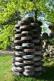 Een molensteen Royalty-vrije Stock Foto