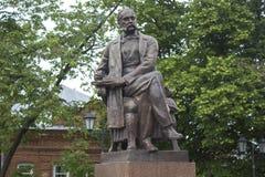 Een monument aan de schrijver Goncharov Royalty-vrije Stock Foto's