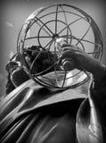 Een Monument Nicolas Copernicus in Torun, Polen Stock Afbeelding