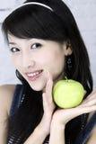 Een mooi Aziatisch meisje. royalty-vrije stock afbeeldingen