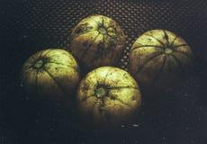 Een mooi esthetisch beeld van meloenfruit royalty-vrije stock foto's