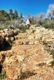 Een mooi gebied van de wandeling van en het genieten van de van aard Beklim de berg stock afbeeldingen