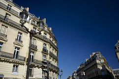 Een Mooi Gebouw in Parijs, Frankrijk Royalty-vrije Stock Afbeelding
