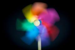 Een mooi gekleurd vuurrad Stock Afbeelding