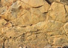 Een mooi geweven stuk van rots als achtergrond of textuur stock fotografie