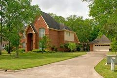 Een mooi huis royalty-vrije stock afbeelding