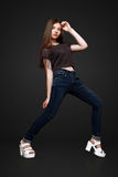 Een mooi 13 jaar oud meisje Royalty-vrije Stock Foto