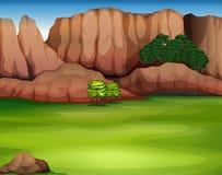 Een mooi landschap vector illustratie
