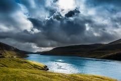 Een mooi landschap Stock Afbeeldingen