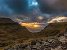 Een mooi landschap Stock Foto