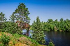 Een mooi landschap van de aard Stock Foto's