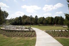 Een mooi park in de stad TX royalty-vrije stock fotografie