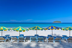 Een Mooi strand bij Kata-strand, Stock Foto
