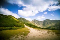 Een mooi Tatry-berglandschap Royalty-vrije Stock Fotografie