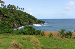 Een mooie baai in de Caraïben Stock Afbeelding