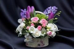 Een mooie bloemen de lenteregeling Royalty-vrije Stock Foto's