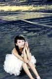 Een mooie bruid Stock Foto