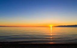 Een mooie dag bij het strand Royalty-vrije Stock Fotografie