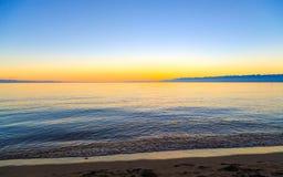 Een mooie dag bij het strand Royalty-vrije Stock Afbeeldingen