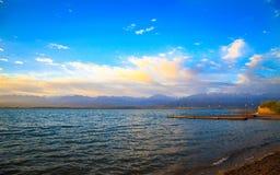 Een mooie dag bij het strand Stock Fotografie