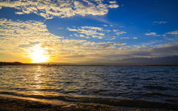 Een mooie dag bij het strand Royalty-vrije Stock Foto