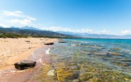 Een mooie dag bij het strand Royalty-vrije Stock Foto's