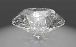 Een mooie fonkelende diamant Stock Afbeelding