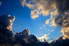 Een mooie hemel Stock Fotografie