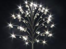 Een mooie lantaarn in de nacht Stock Fotografie