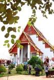 Een mooie maatregel in ayutthaya royalty-vrije stock foto