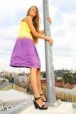 Een mooie mannequin Stock Foto's
