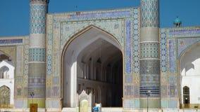 Een mooie moskee in Afghanistan stock footage