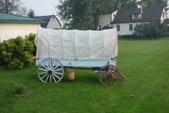Een mooie oude wagen van pioniersdagen royalty-vrije stock foto's