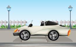 Een mooie sportwagen stock illustratie