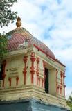 Een mooie tempelzaal in thiruvarur stock foto's