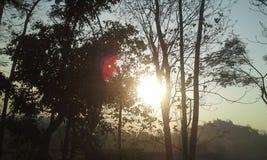 Een mooie zonsondergang Royalty-vrije Stock Foto