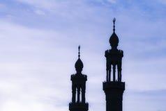 Een moskeetoren Royalty-vrije Stock Fotografie