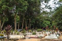 Een Moslimbegraafplaatspark. Royalty-vrije Stock Foto