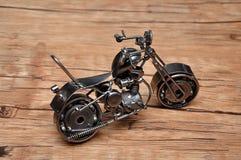 Een motorfiets stock afbeeldingen