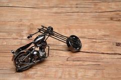 Een motorfiets royalty-vrije stock afbeelding