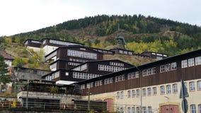 Een museummijn in Duitsland royalty-vrije stock foto