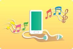 Een musicphone Royalty-vrije Stock Foto's