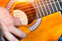 Een musicus stock foto