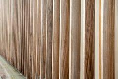 Een muur van hout royalty-vrije stock afbeelding