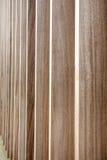 Een muur van hout stock fotografie