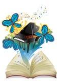 Een muzikaal boek vector illustratie
