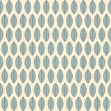 Een naadloos patroon met bladeren Royalty-vrije Stock Afbeelding