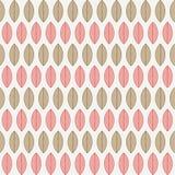 Een naadloos patroon met bladeren Stock Foto