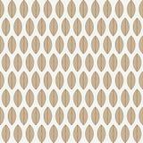 Een naadloos patroon met bladeren Stock Foto's
